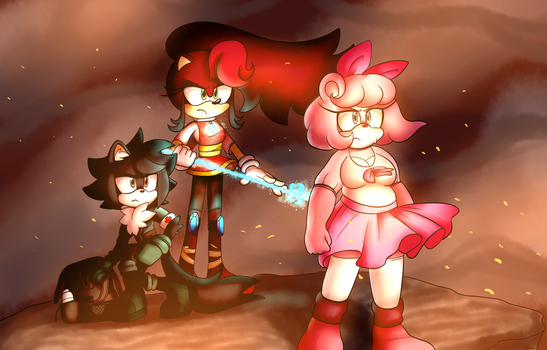 Sonic Forces new recruits! by Yukidog674