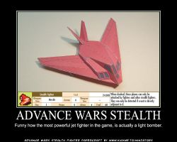 Dual Strike Stealth papercraft by ninjatoespapercraft