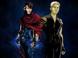 Wiccan and Hulkling Revision by JGiampietro