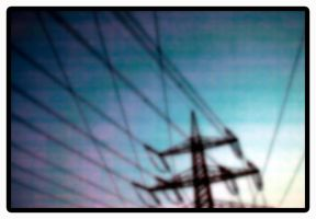 Electric lines by moonzaiphotos