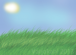 Small speedpainting grass by Varjokani