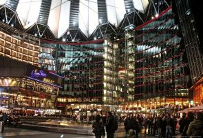 Berlin - Sony Center III by pingallery