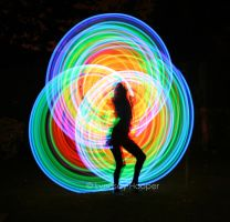 LED Hoop by AutumnPhyre
