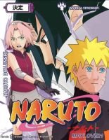 Cover Naruto Doujinshi- My real strenght by MayLove21