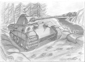 Panzerkampfwagen V 'Panther' by Methos-DIW