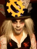 Steampunk Horror Mad hatter by KyoTheKat