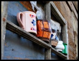 Old cups by marialivia16