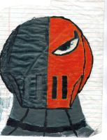 Very First Deathstroke Pic by japillar