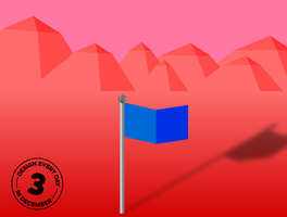 Design Every Day in December - Day 3 - Flag by deebeeArt