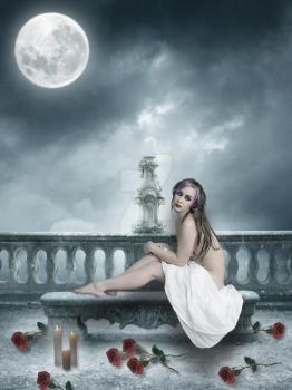 Beneath The Moonlight by enigma-theory