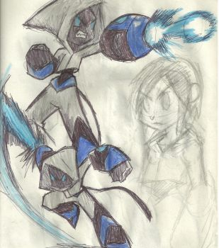 Bloo, more concept and practice by worldofhammy