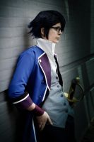 Saruhiko cosplay - The cool one by YamiNoShadow