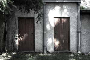 two doors by stupidduck