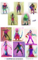 Abstract character color concepts2 by PoetryMan1