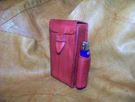 leather cigarette case 1 by MerrillsLeather