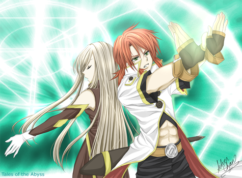 Tales of the abyss luke and tear