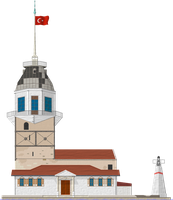 Maiden's Tower by Herbertrocha
