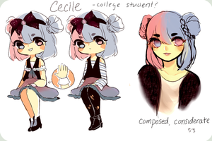 ref:Cecile by Iciscle