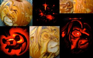 Lion King Pumpkin Carving by GandaKris