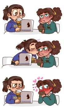 Cafe date by Crazygalcomics