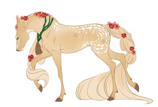 Libah |Doe| Commoner/Outcast by Wild-Fawnz
