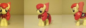 Apple Bloom CMC MLP Custom Sculpture by Blackout-Comix