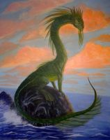 Sea serpent 2 by watjong