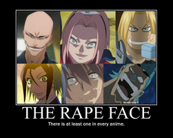 Anime Rape Faces by JefffWith3Fs