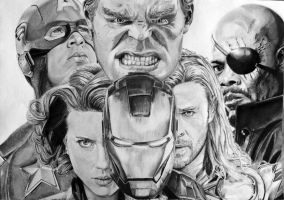 The Avengers by PortraitLc