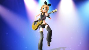 Rin Kagamine Extend DT by Danthrox
