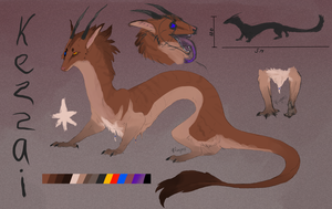 dragon kezzai ref by Kezzai