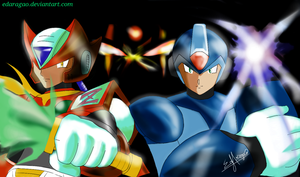 X and Zero by EdAragao