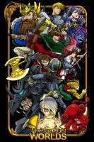 Adventure Quest Worlds poster by dovianax