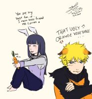 NaruHina: She ignore me by JcNight-Art