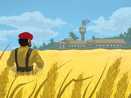 Wheat Fields Forever by Gomeric85
