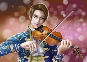 20141018 Roderich and his violin by thygise