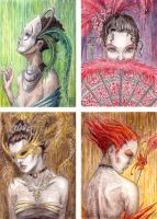Masquerade - ACEO by Tommi-75