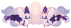 [Guest Auction!] Night Lights by Pekleo! [Closed] by manaberry