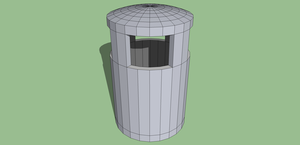 3D Trash Can by ChromeFusion44