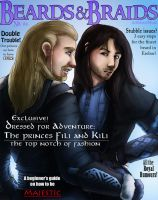 Beards and Braids: Fili and Kili by AlbinoNial