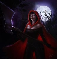 Not-so-Little Red Ridding Hood by phoenixnightmare