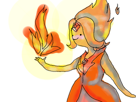 Flame Princess by chibimewerizu