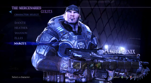 Marcus Fenix in Resident Evil 6 by RPGxplay