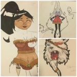 Sketchpad collection - 04 League of Legends by Caomha