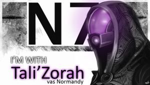 Tali'Zorah vas Normandy by IMAGINeye