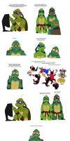 Plan of action TMNT pg 1 by Lily-pily