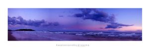 Purple Horizons by AwakenendByDreams