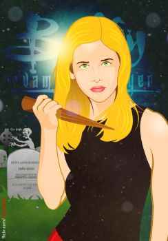 Buffy The Vampire Slayer by TomTrager
