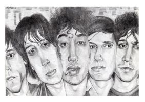 the strokes by Schorer