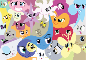 The Faces of Friendship by TheAmazingNoodle